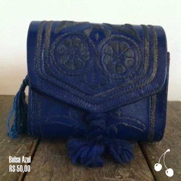 bolsa azul r$ 50,00