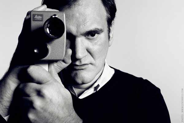 Quentin Tarantino photographer at the Soho Hotel in London. December 2012